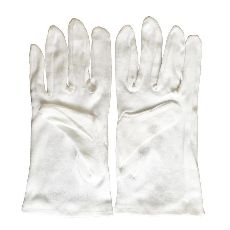 1 Paire de Garçon Service Gants Eddingtons Majordome Blanc Coton Fin Gants
